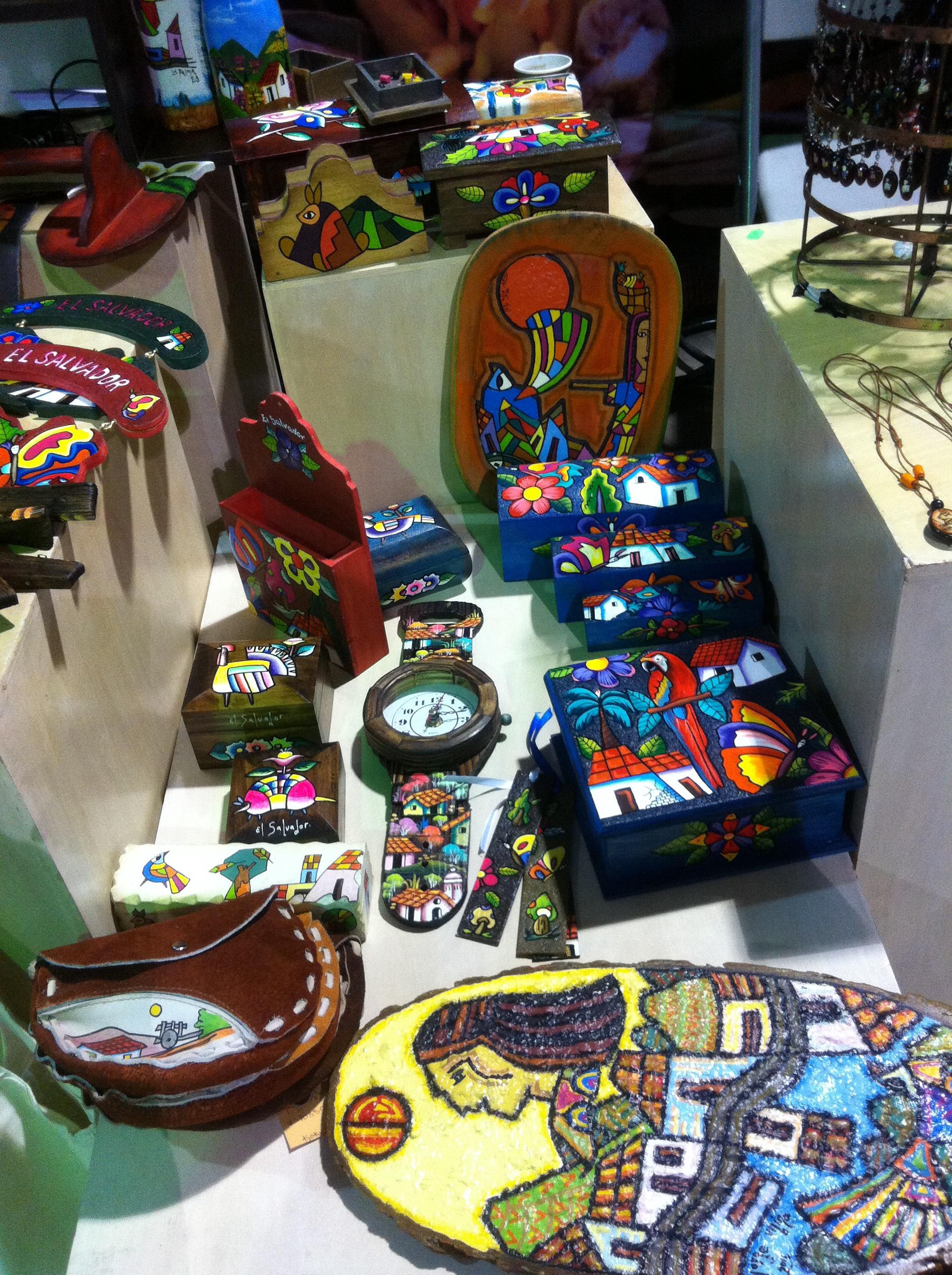 Artesanías de La Palma, Chalatenango