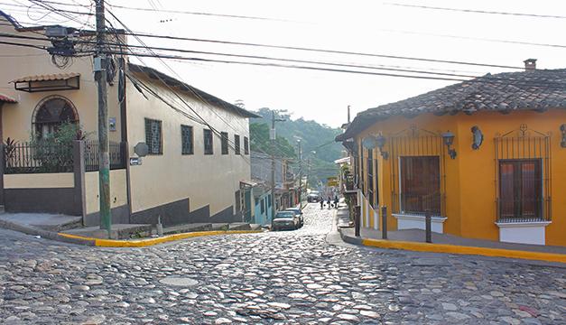Calles Copán