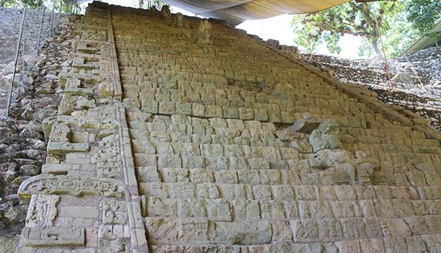 Escalinata de los jeroglificos